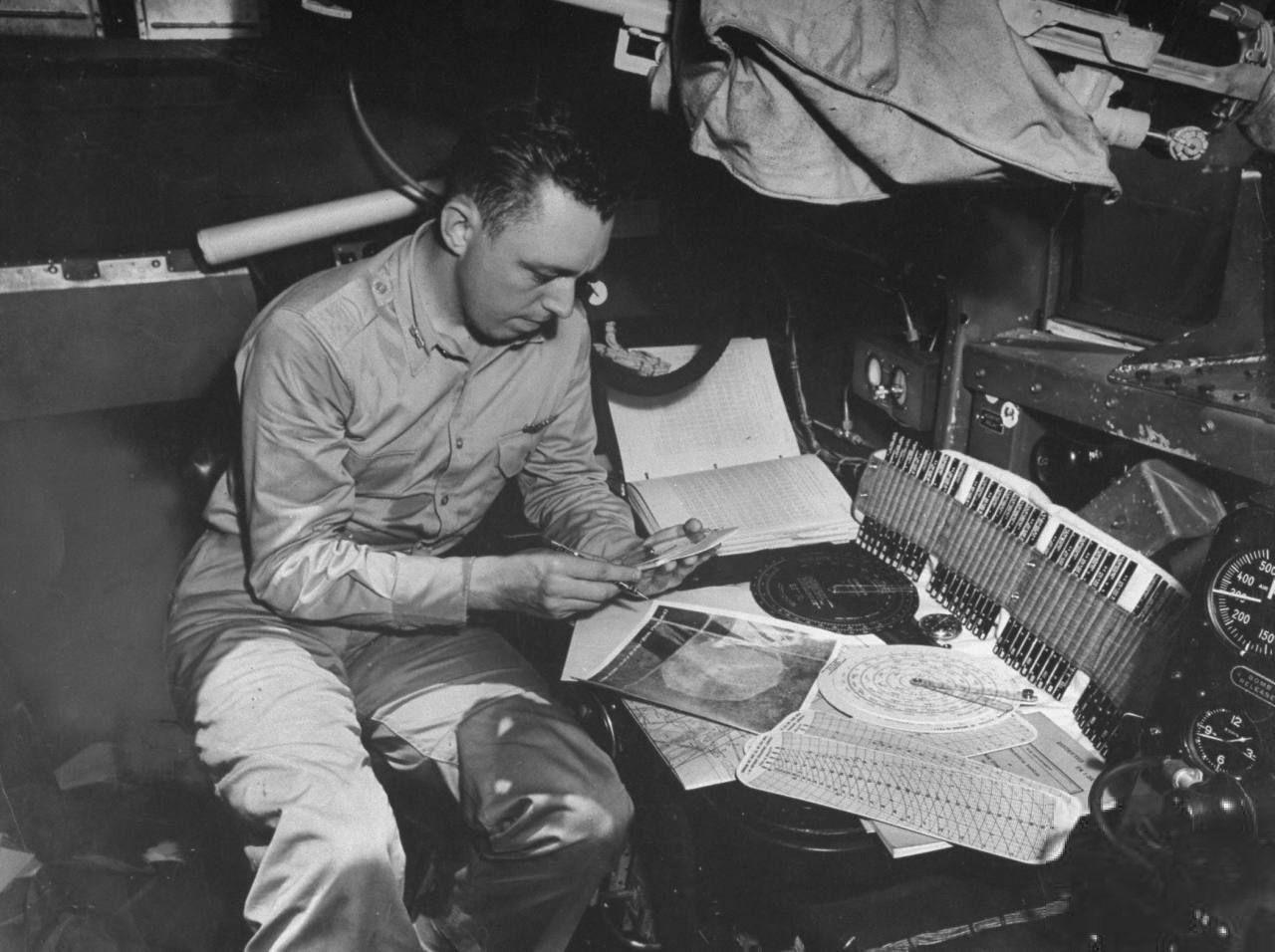 WWII Bombadier captain