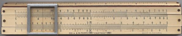 faber castell 57 87 slide rule instructions